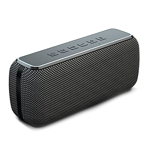 JHTD Altavoz Bluetooth Impermeable Portátil, Conexión De Bluetooth Conveniente, Llamada HD, Duración De La Batería, Buena Resistencia Al Agua,A