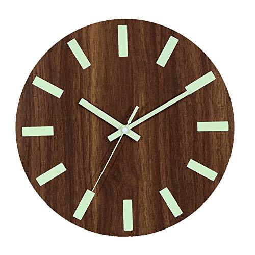 ZXCVB Reloj Reloj Luminoso Reloj dePared paraSala de Estar