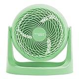 IRIS USA WOOZOO Quiet Personal Air Circulating Fan, 12 inch Large Table Fan, Green