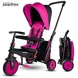smarTrike STR3 Triciclo Plegable con Carrito Certificado para niños de 1,2,3 años,...
