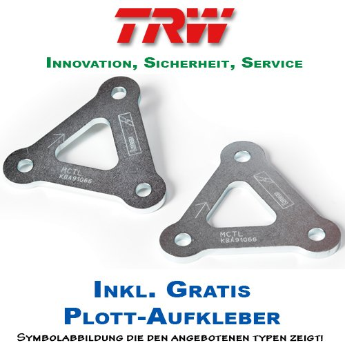 Lucas / TRW 25mm Tieferlegung Triumph 1050 Speed Triple Bj. 2011-