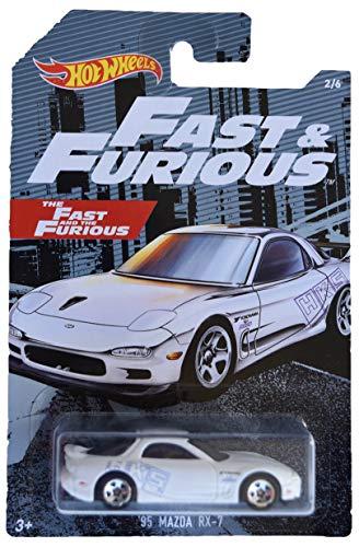 Hot Wheels Fast & Furious '95 Mazda RX 7 2/6, White