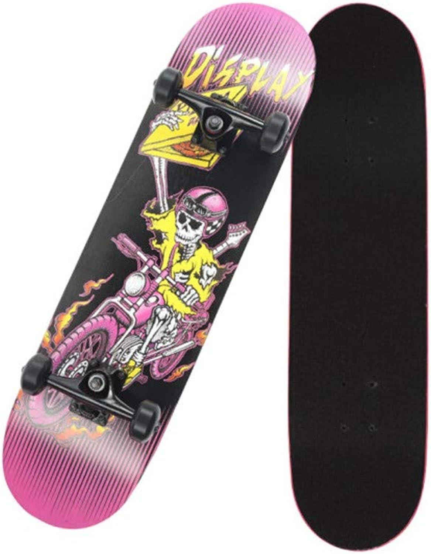 FTYUC Skateboards Langes BrettSkateboard doppeltes doppeltes doppeltes verdrehendes professionelles Straßen-Skateboardseelenwagen B07MGRHDT8  Neuankömmling 3c0ab9