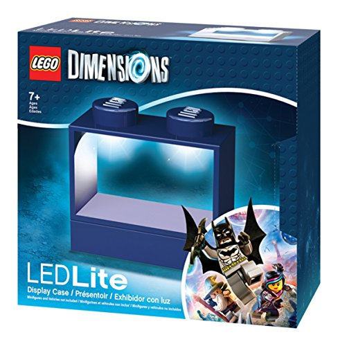 Lego Lights Dimensions Display Box (Blue) by LEGO