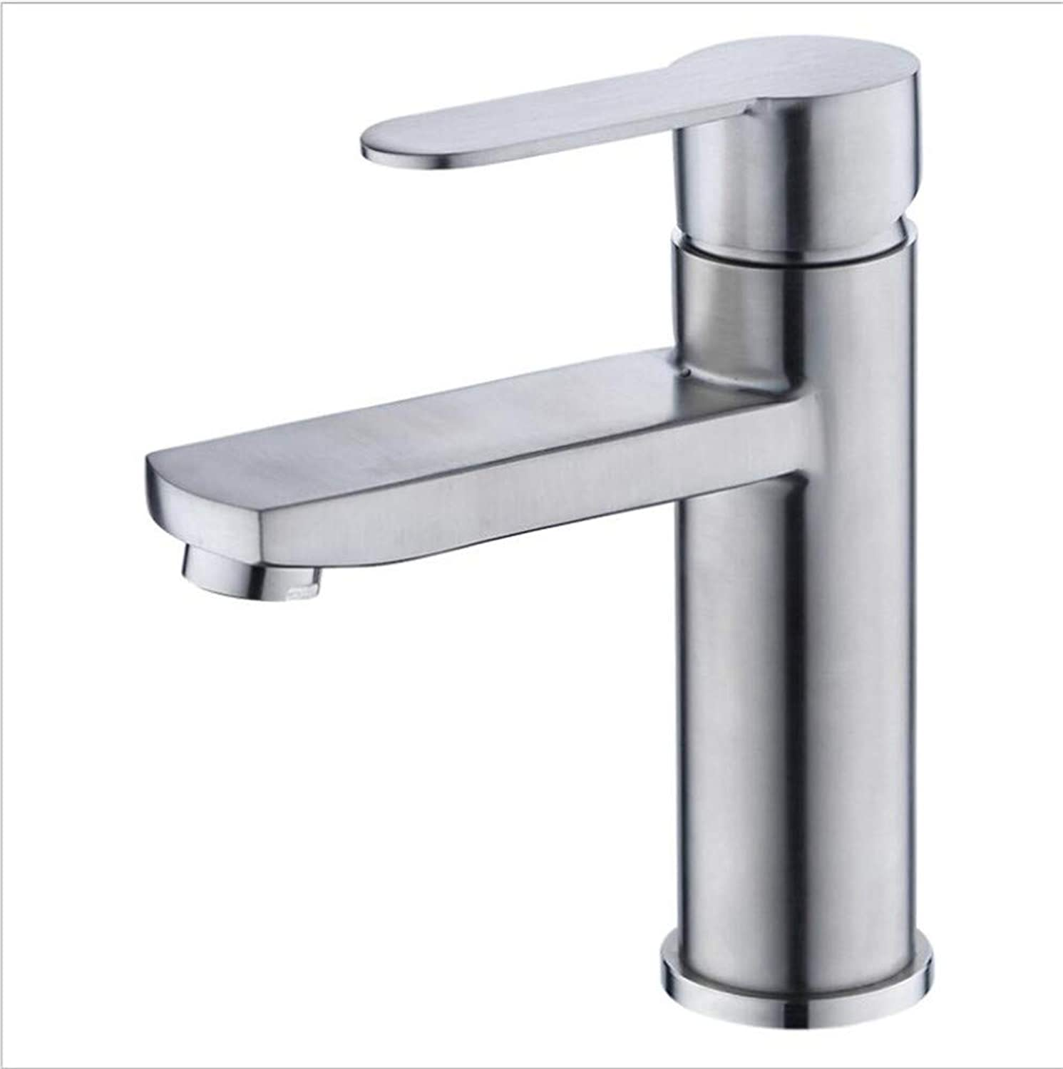 Bathroom Sink Basin Lever Mixer 304 Stainless Square Basin