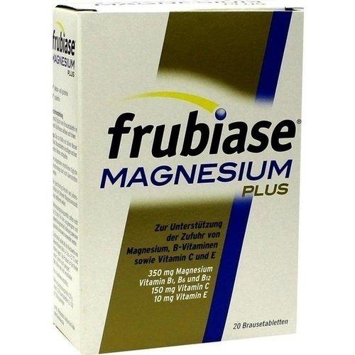 frubiase Magnesium plus Brausetabletten, 20 St. Tabletten