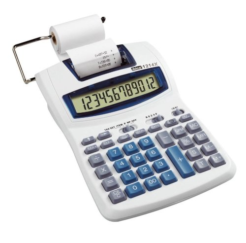 REXEL IB410031 - Calculadora de sobremesa con impresión