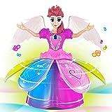 Omiky Mädchen Tanzen Prinzessin Multifunktions Musik Puppe LED Haustier elektronische Roboter...