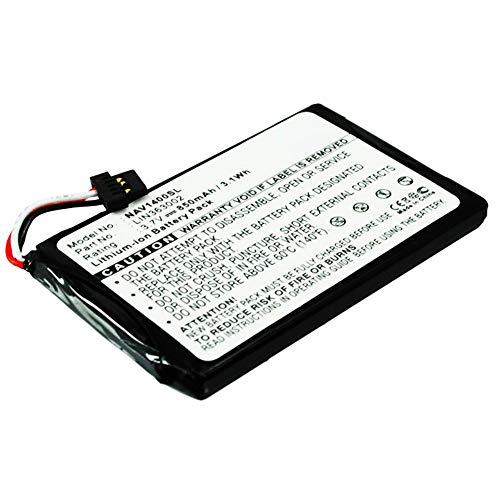 subtel® Qualitäts Akku kompatibel mit Navigon 1400 Navigon 1410 Navigon 2400 Navigon 2410 Navigon Primo, LIN363002 850mAh Ersatzakku Batterie