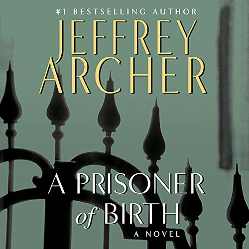 A Prisoner of Birth audiobook cover art