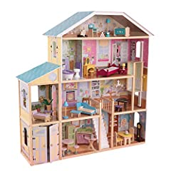 4 levels and 8 rooms Gliding elevator Garage doors open and close Smart, sturdy wood construction Packaged with detailed, step-by-step assembly instructions Skill Level: Beginner