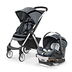 Includes the #1-rated key Fit infant car seat Car seat clicks easily into stroller with included adapter Lightweight and compact for on-the-go convenience Innovative fold/carry handle for a one-hand, free-standing quick fold 3-Position reclining back...