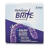 Retainer Brite - Tabletas Limpiadoras 36 Unidades