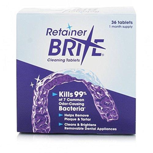 Gebiss Reinigung RETAINER BRITE Reingungs Tabletten - 36