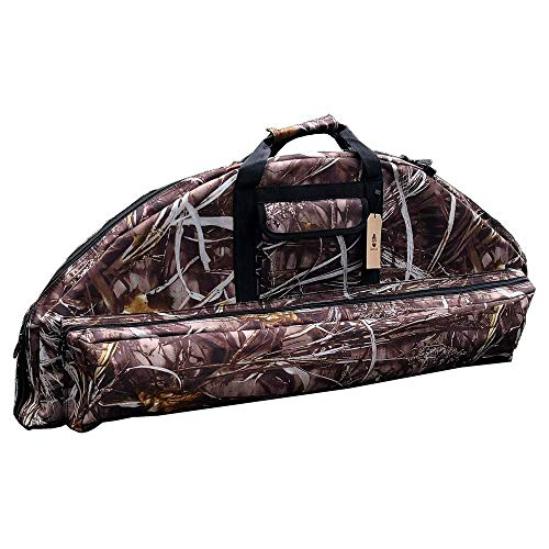 "DarkForest BC-1 Compound Bow Case Soft Lightweight Archery Bow and Arrow Cases - 35"" Interior Storage"