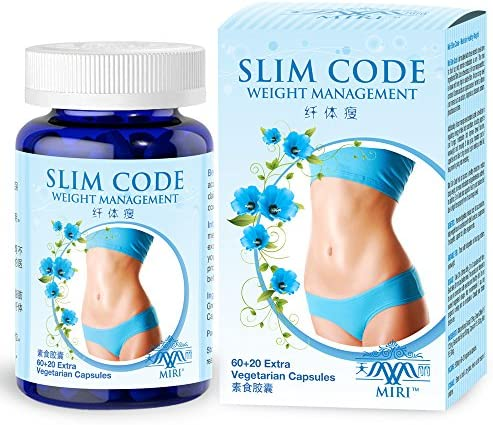 MIRI Slim Code 80 Veg caps African Mango Extract Green Coffee Lose Weight Naturally Healthily product image