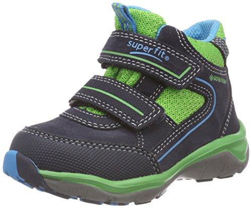 Superfit Jungen SPORT5 Hohe Sneaker, Blau (Blau/Grün 81), 33 EU
