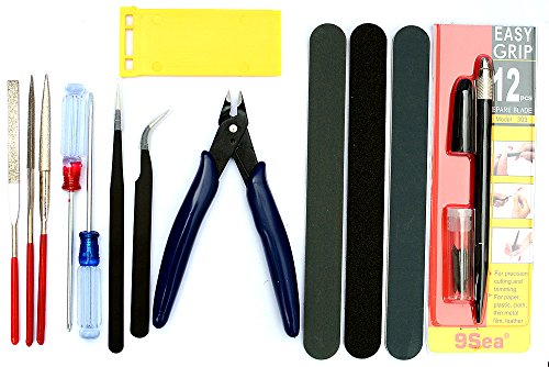 Gundam Modeler Basic Tools Craft Set For Car Model Building Kit For Bandai Hobby