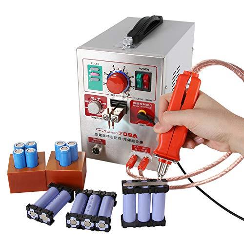 Wenhu Machine de Soudure de Point d'impulsion de la soudeuse KW de 709A Spot pour la Machine de Soudure de Batterie au Lithium avec Le Stylo de Soudure à Distance,230v