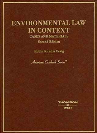 Environmental Law in Context: Cases and Materials