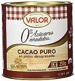 Chocolates Valor - Cacao Puro En Polvo Desgrasado - 250 g - [pack de 2]