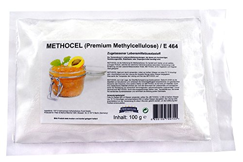 Methocel 100g Methylcellulose/Lebensmittelzusatzstoff E464 (HPMC) F4M