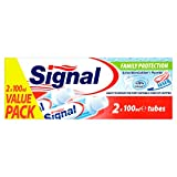 Signal Family Protection Toothpaste Against Dental Caries DUOPACK (Active MicroCalcium + Fluoride) 2 x 3,4 oz