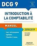 DCG 9 - Introduction à la comptabilité 2018/2019 - Manuel