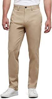 Men's Chino Flat-Front Slim-Fit Casual Pant