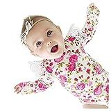 Ghemdilmn Baby Mädchen Langärmeligen Kinderkleidung Mode Blumedruck Strampler Reine Baumwolle Einteiliger Jumpsuit Overall Wickel Furz Overall