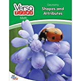 hand2mind VersaTiles Math Books Grade 3 (Geometry: Shapes and Attributes)