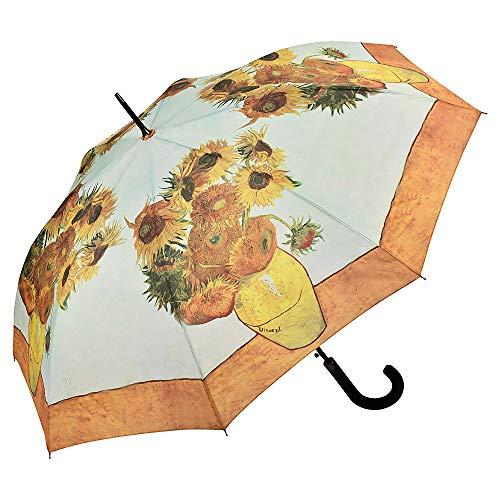 VON LILIENFELD Regenschirm Automatik Damen Kunst Motiv Vincent Van Gogh: Sonnenblumen