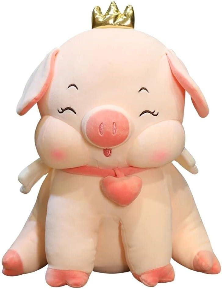 ATBXXN 1Pc 35Cm Cute Angel Branded goods Pig Stuffed Cheap mail order shopping Piggy Do Toys Pink Plush