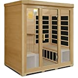 Crystal Sauna BH400 4-Person Infrared Sauna