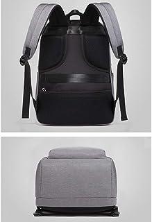 Men's Backpack Multifunctional Casual Computer Bag Simple USB Waterproof Backpack