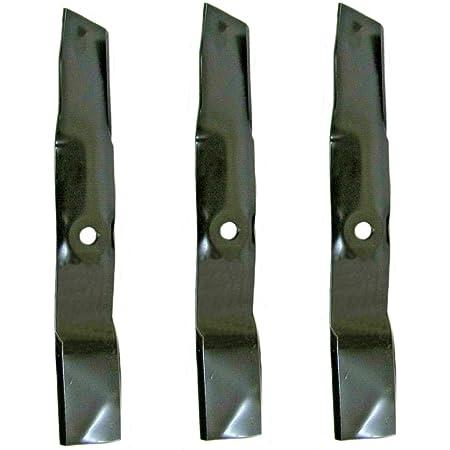 """Mower Blades for 54/"""" John Deere ZTrak Z525E Z540M Z375R Replaces M143520 3"""