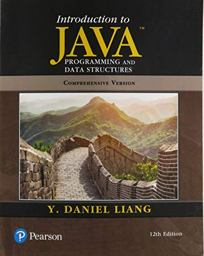 Introduction to Java Programming...