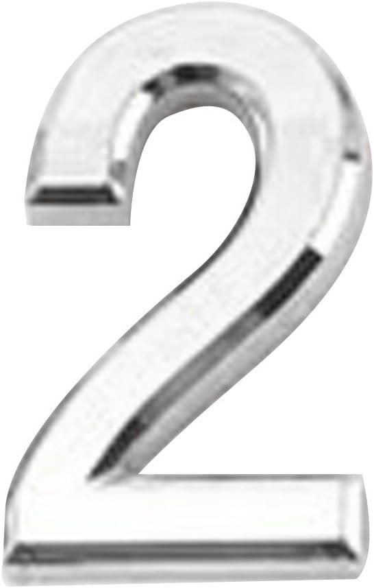 MERIGLARE Hotel Door Number Sticky Num Plate Sign 5 ☆ popular Digit Max 62% OFF -
