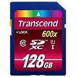 KR41622 トランセンドジャパン SDXCカード 128GB Class10 UHS-I 600x (Ultimate)
