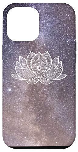 iPhone 12 Pro Max Yoga Lover Namaste Spiritual Gift Meditation Space Lotus Case