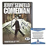 Jerry Seinfeld Signed Autographed 'Comedian' Movie DVD Cover Beckett Authentication BAS Cert S38716