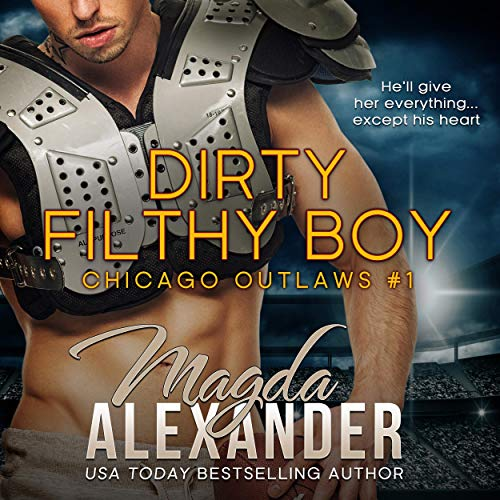 Dirty Filthy Boy (A Bad Boy Sports Romance) audiobook cover art