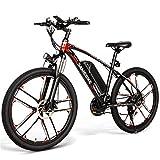 SAMEBIKE 26 Zoll Elektrofahrrad Mountainbike Elektrofahrrad E-Bike Elektrisches Fahrrad 350W Motor...