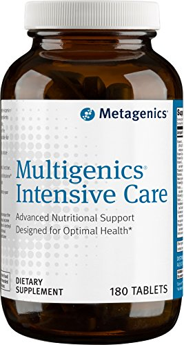 Metagenics Multigenics Intensive Care Without Iron  Advanced Nutritional Support Designed for Optimal Health*  30 servings