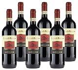 6 Bottiglie da 75 cl Annata: 2016 Provenienza: Toscana - Chianti Vitigno: Sangiovese Vino Rosso rotondo e ben bilanciato Perfetto con primi di carne, secondi di carne bianca e rossa.