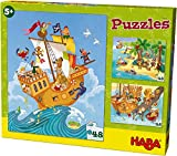 HABA 304222 Puzzle 48 pc(s) - Rompecabezas (Boy/Girl, 5 yr(s), Cardboard, 48 pc(s))