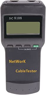 D DOLITY RJ45 RJ11LAN Cable Tester Handheld Network Wire Telephone Line Detector