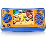 JJFUN Retro Handheld Game Console for Kids, Built-in 220 Classic Games Arcade Entertainment Gaming System, 2.5' LCD Portable FC TV-Out Video Game Player for Children