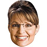 Sarah Palin (2006) Celebrity Mask, Flat Card Face, Fancy Dress Mask