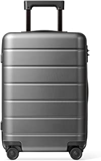 SMLCTY Luggage Lightweight,Mute 360° Rotating Universal Wheel Adjustable Lever Large Capacity Trolley Case Suitcase (Color : Gray, Size : 24 inch)